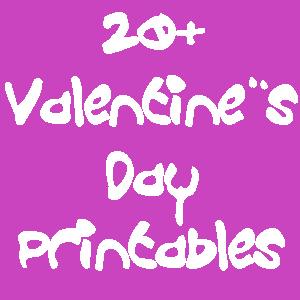 20+valentinesdayprintables