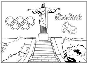 coloring-adult-rio-2016-olympic-games-christ-the-redeemer-statue