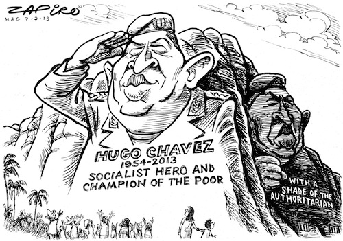 Chavez Socialist peasants left wallowing in a puddles of