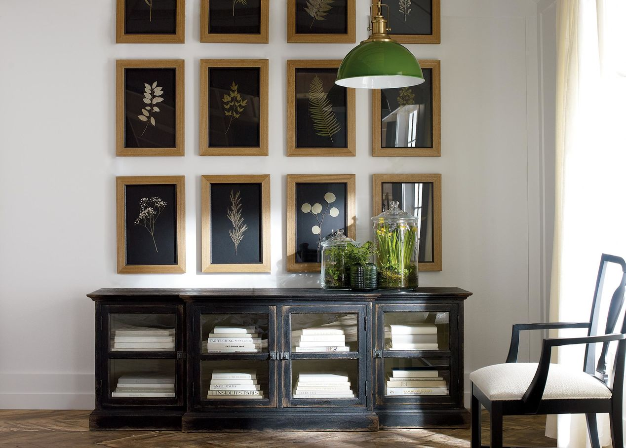 BLACK  WHITE  AWESOME  ETHAN ALLEN  THE ART OF MAKING HOME