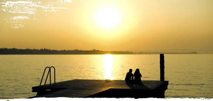Top 5 must sees gardameer - Zonsondergang aan het Gardameer