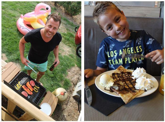 Vakantiebloggers Eurocamp - BBQ bij de Azure stacaravan en uit eten op de camping La Vallee