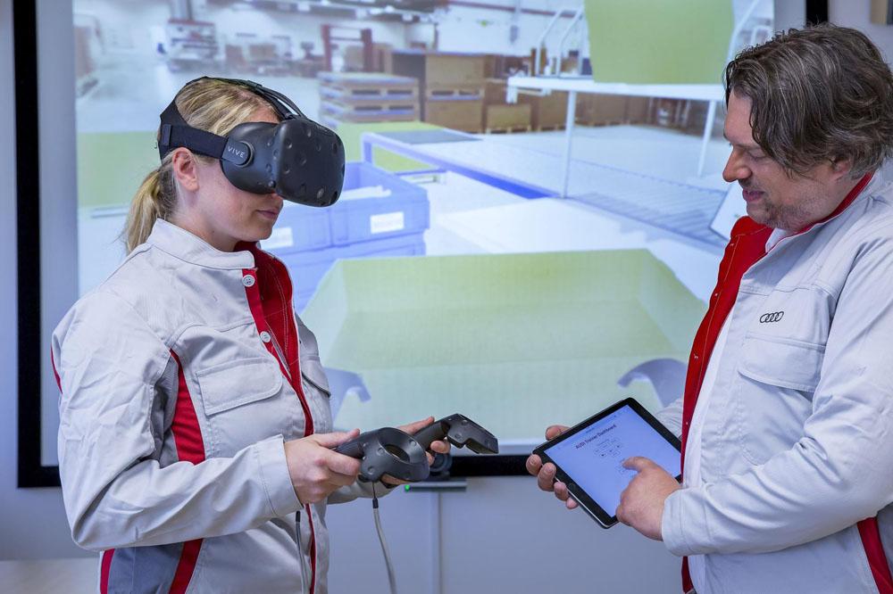 Audi formará a sus empleados con ayuda de la realidad virtual