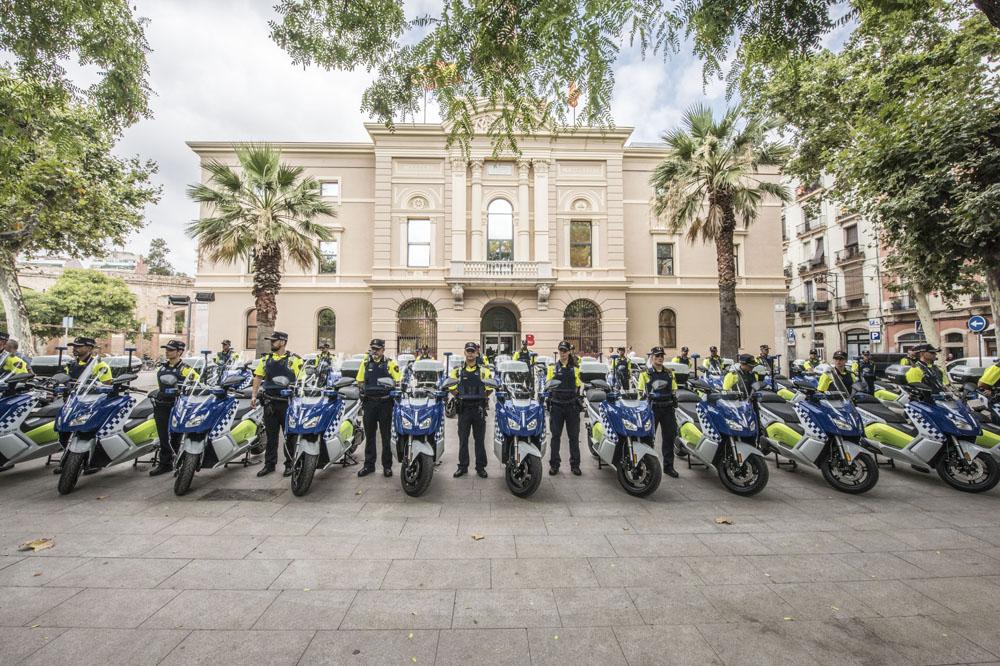 30 nuevas BMW C Evolution para la Guardia Urbana de Barcelona