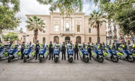 30 nuevas BMW C Evolution para la Guardia Urbana de Barcelona