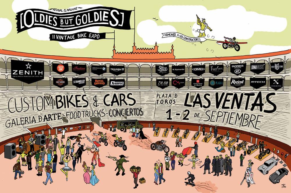 Oldies But Goldies 2017: cita para los amantes de las motos en Madrid