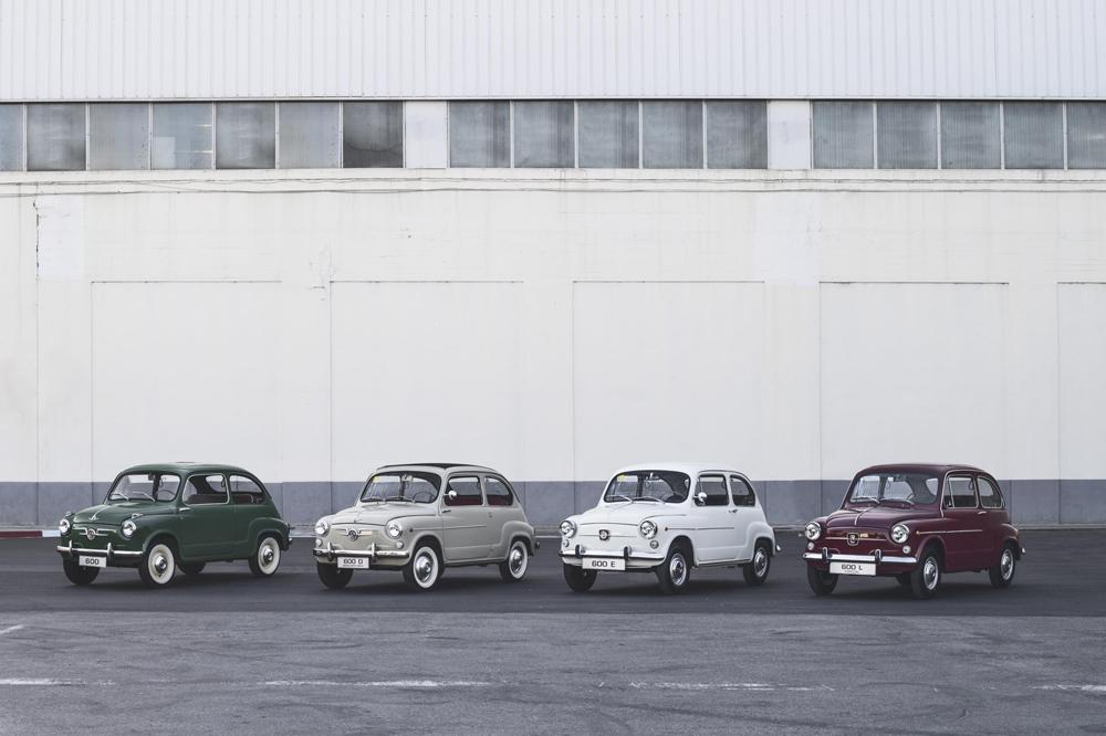 El SEAT 600 está de aniversario y lo celebra en el Salón AutoRetro 2017 de Barcelona