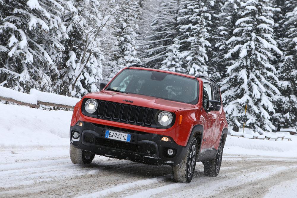 Consejos Jeep para conducir en Invierno