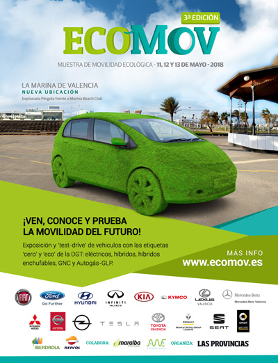 Ecomov Feria del Vehículo Ecológico en Valencia