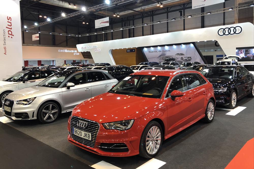 Audi Selection Plus en el Salón del Vehículo de Ocasión de Madrid