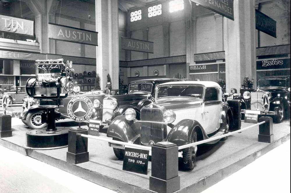 El Mercedes Benz Tipo 170, una de las estrellas del Salón de Barcelona de 1933