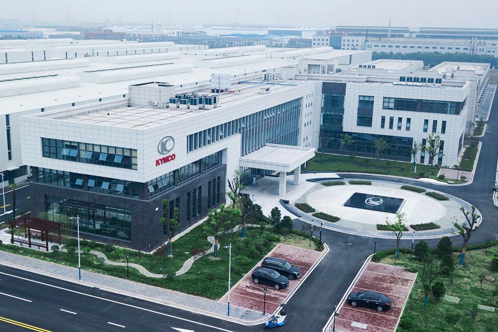 Inauguración nueva fábrica KYMCO en China
