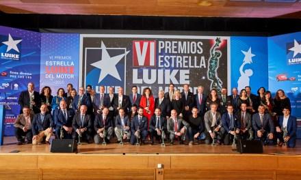Los premios Estrella Luike del Motor celebran el éxito de la industria de la movilidad en España