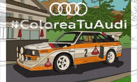 Colorea tu Audi en casa y compártelo