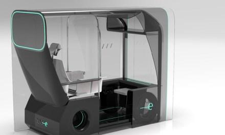 Un concept de taxi autónomo, premio Ford New designers