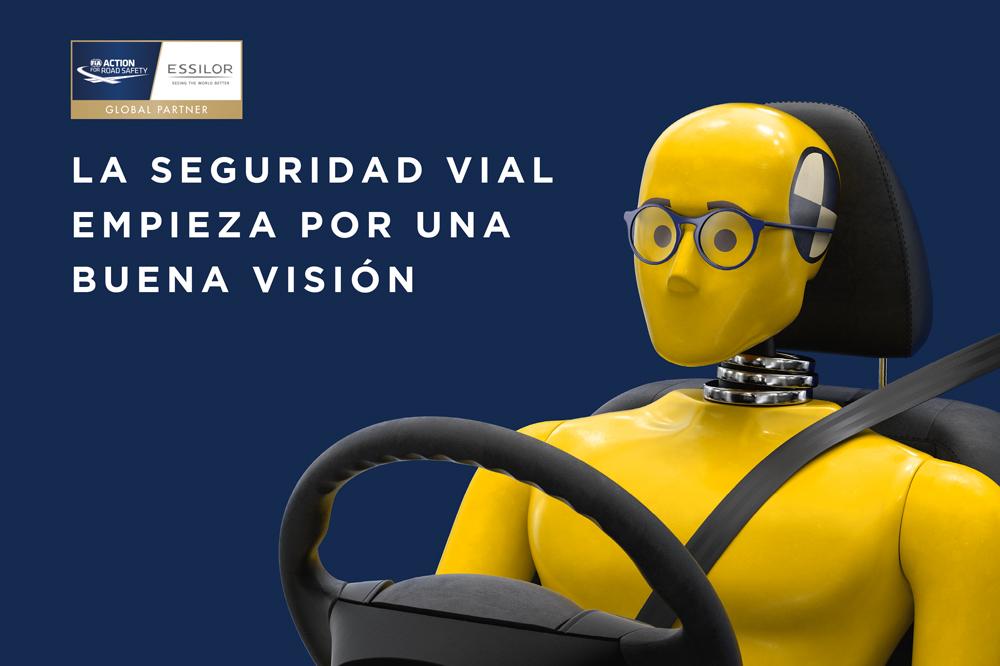 Campaña Essilor por la visión al volante