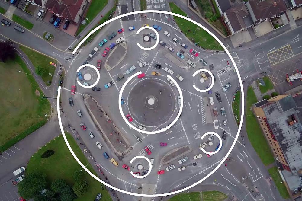 Magic circle roundabout