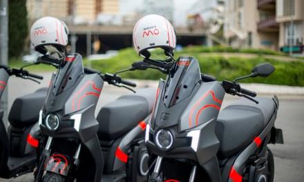 Comienza a funcionar el Motosharing de SEAT MÓ en L'Hospitalet de Llobregat