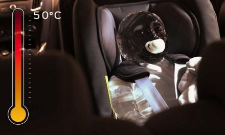 Alerta de Ocupante Trasero, Ford ayuda a prevenir que niños y mascotas se queden en el coche a pleno sol