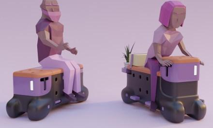 Un banco que se transforma en scooter gana el Ford Fund Smart Mobility Challenge