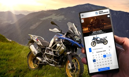 Ya disponible en España Rent a Ride, el nuevo servicio de alquiler de motos de BMW Motorrad