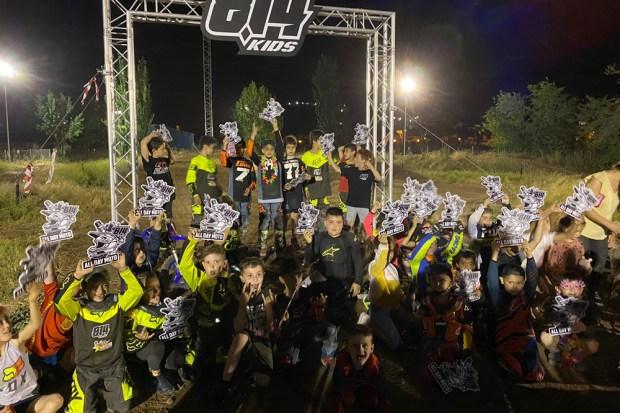 Escuela de Motocross Infantil en Moralzarzal