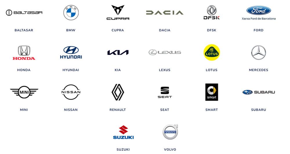 22 marcas de coches en Automobile Barcelona 2021