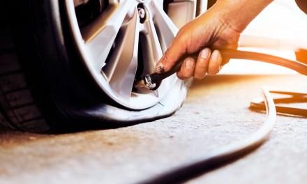Los neumáticos, siempre con la presión adecuada