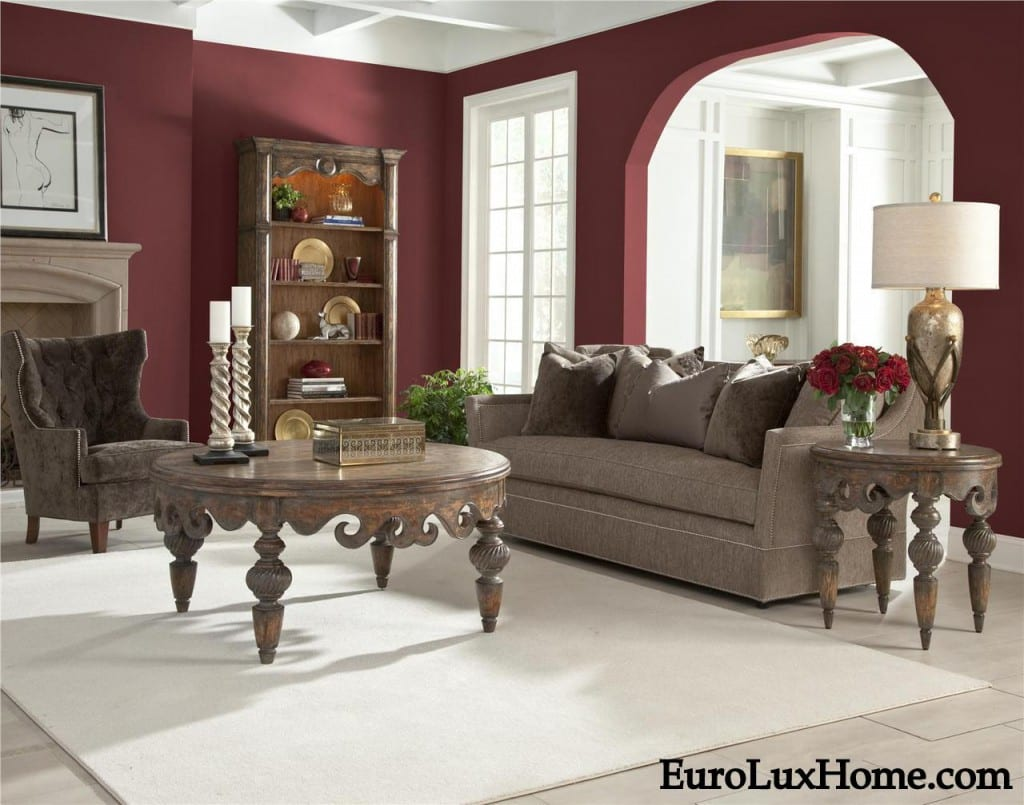 Living Room Decorating Ideas Red