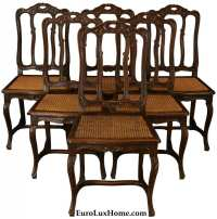 French Vintage Dining Chairs | Letters from EuroLux