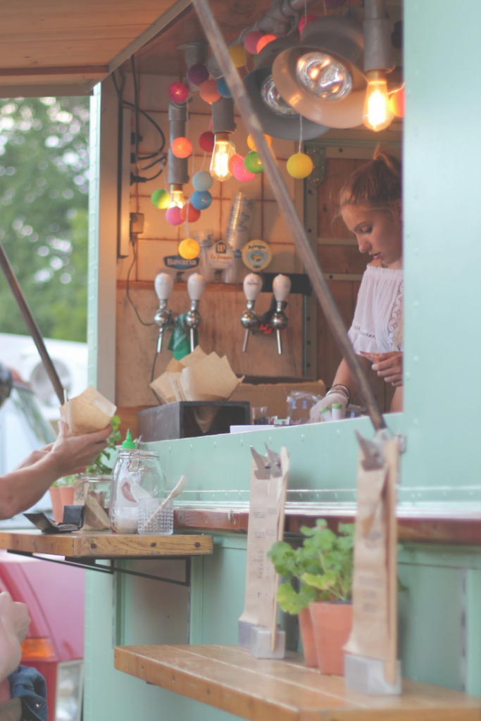 Wedding Ideas on a Budget: Hire a Food Truck instead of a catering company to save money.