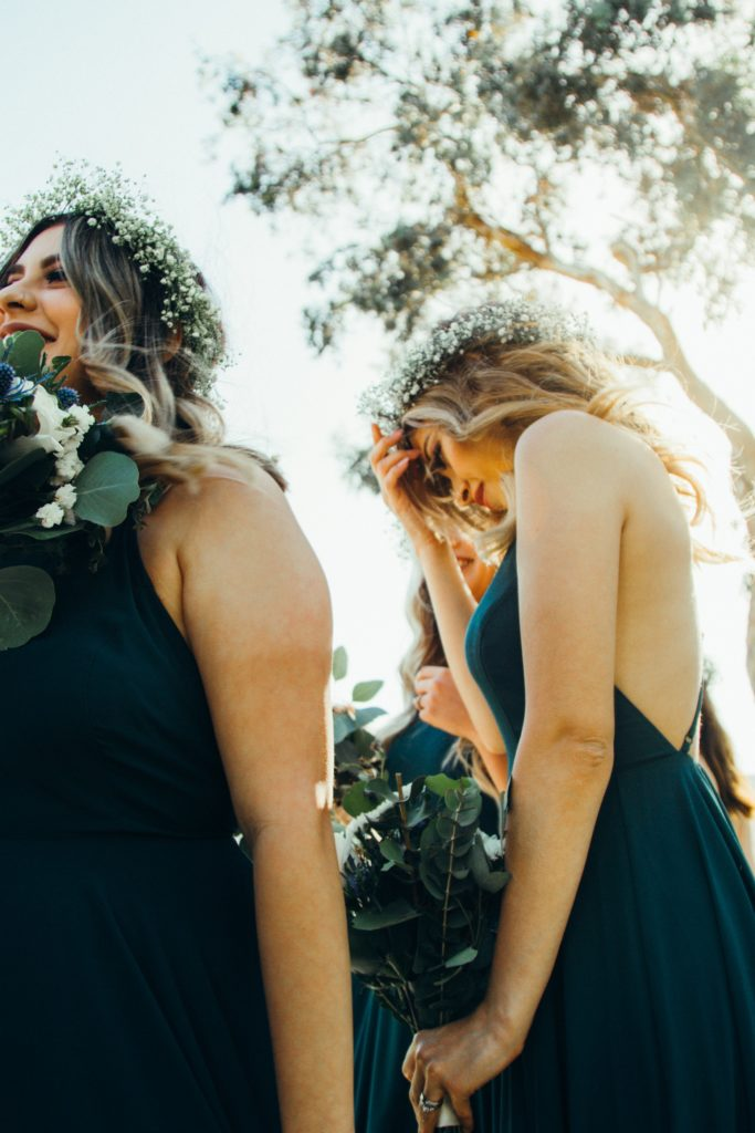 Choose a bridal party that will encourage you and be the confident bride you were meant to be.