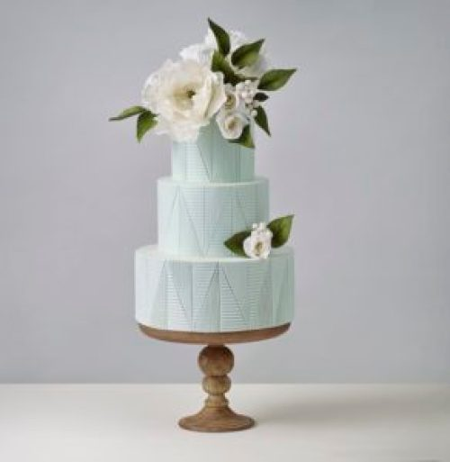Crummb Minimalist Wedding Cake