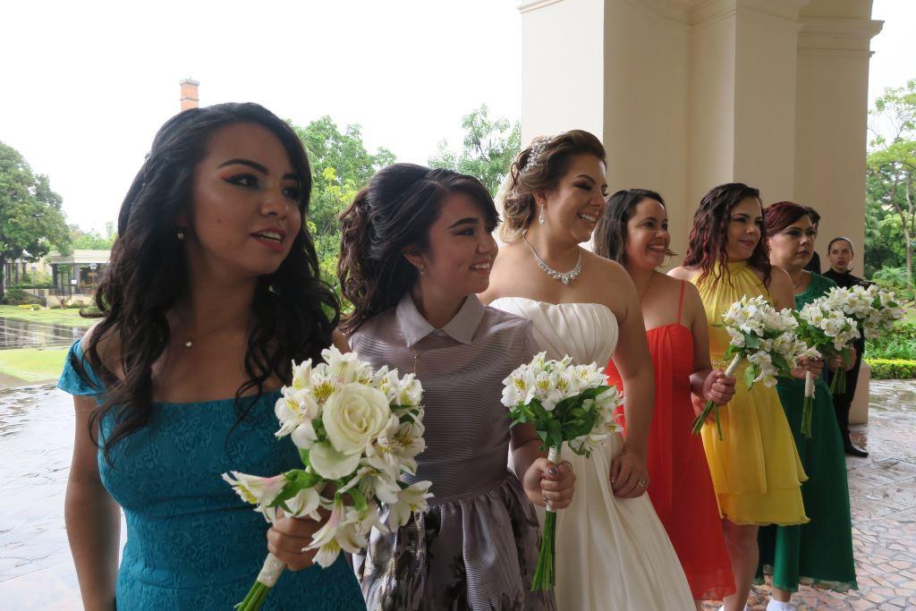 Bridal Dress Shopping Color Palette