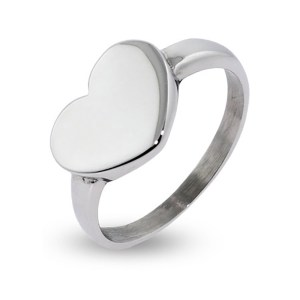 Custom jewelry gifts under 50 at eves addiction, custom engravable heart ring