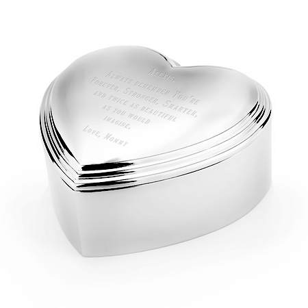heart shaped jewelry box mothers day gift eves addiction sterling silver