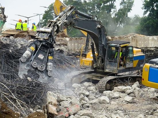 Destruction bâtiment