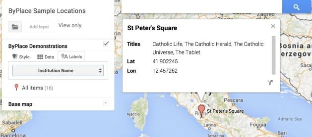 VaticanMap