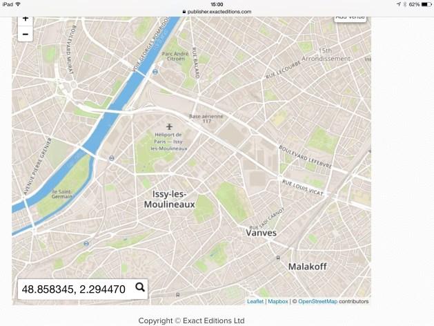 Eiffel coordinates