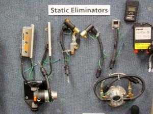 A Sample of EXAIR Static Eliminators