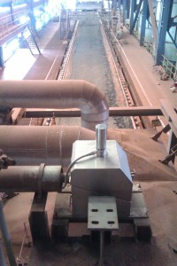 Cabinet Cooler in steel mill