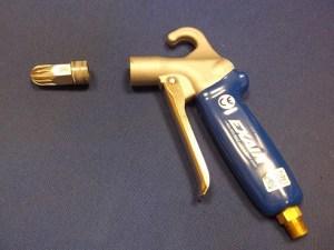 Gold nozzle and gun