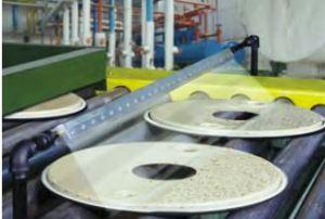 SAK drying parts on conveyor