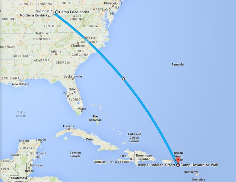 Just to put the distance into perspective...