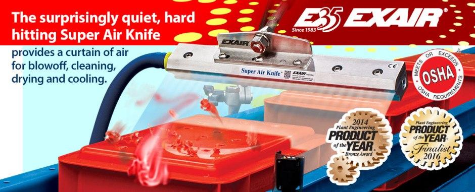 EXAIR Super Air Knife Promotion