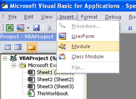 Excel UDF, add a new module.