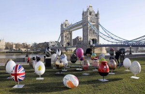 Easter in London 2016