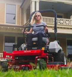 exmark pioneer s series zero turn riding mower [ 1800 x 1200 Pixel ]