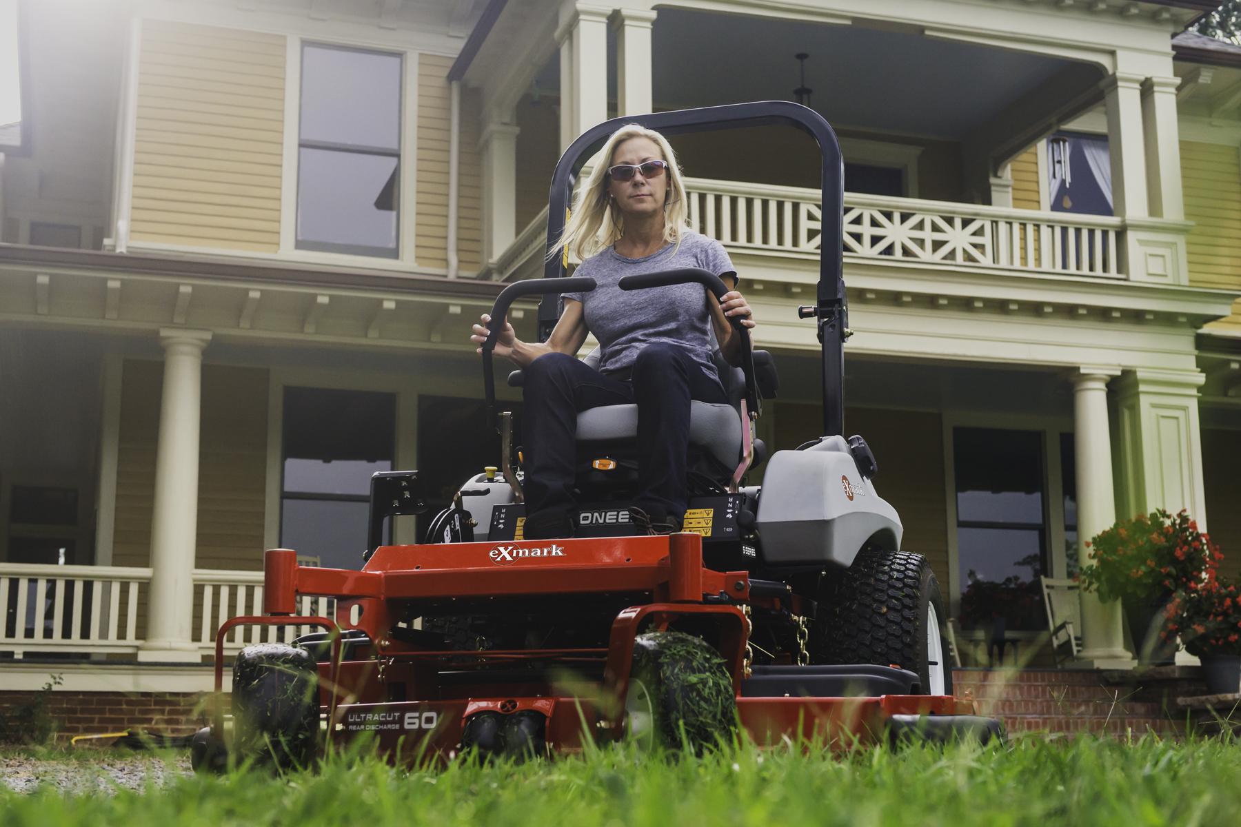 hight resolution of exmark pioneer s series zero turn riding mower