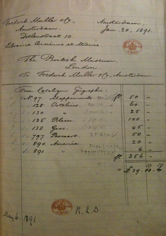 facture du 19e siècle